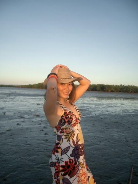 Sunset Goddess in Samar_hat