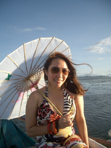 Sunset Goddess in Samar_parasol_2