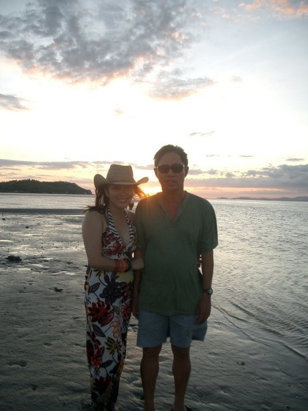 Sunset Goddess in Samar_with Tatay