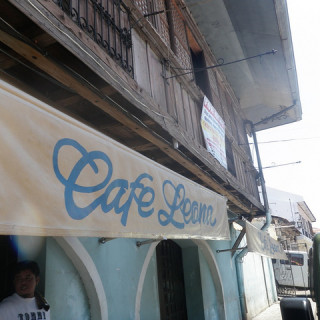 Lunch in Vigan's Cafe Leona