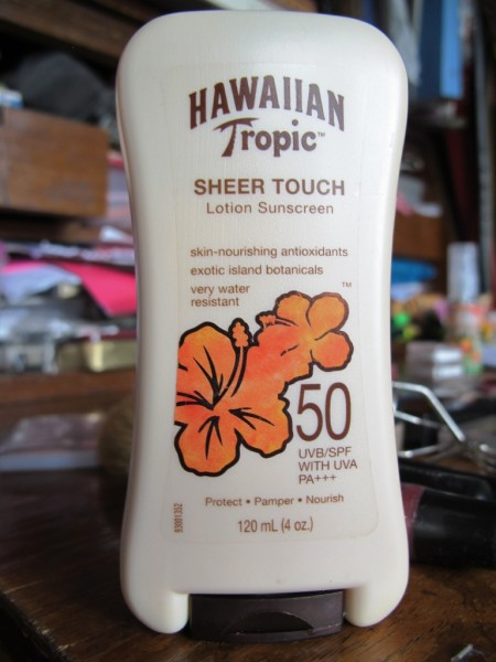 Hawaiian Tropics sunscreen