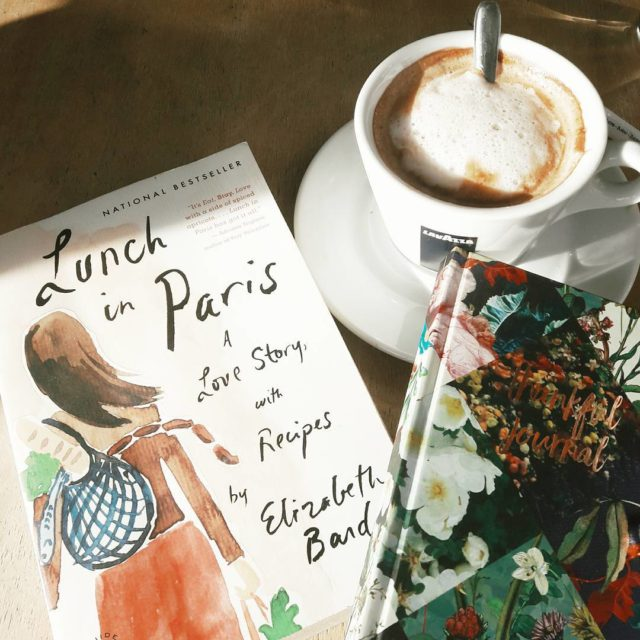 Rereading some chapters perusing recipes and gratitude journaling bonweekends FilipinainFrancehellip