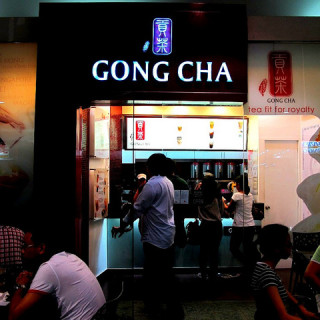 Gong Cha in Mall of Asia