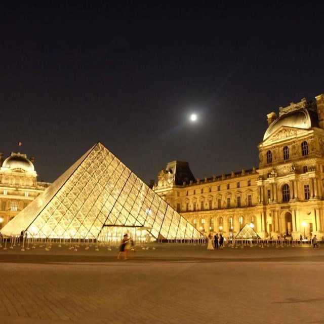 First time to see the Louvre at night nofilter FilipinainFrancehellip