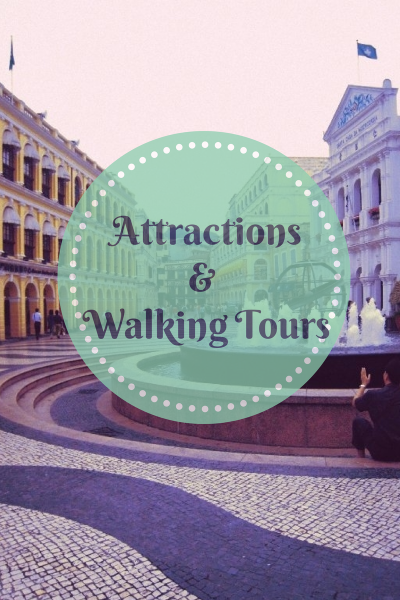 Macau Attractions & Walking Tours