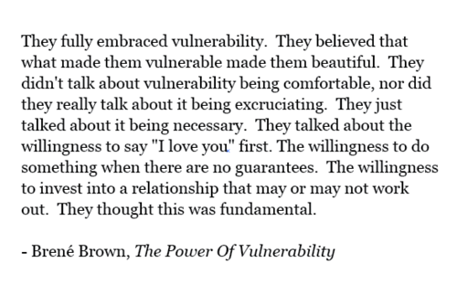 Brene Brown The Power of Vulnerability