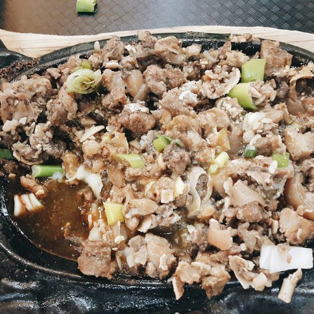 When in Rome why not sisig and a taste ofhellip