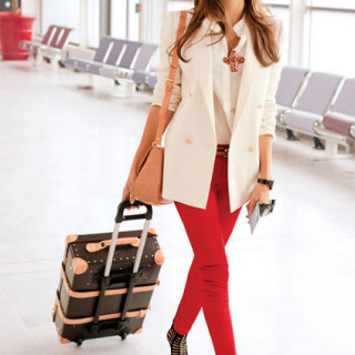 Fashion Friday: Red Pants!